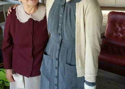 Mummo ja Aina Inkeri Ankeinen