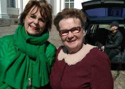 Mummo ja Pirkko Mannola